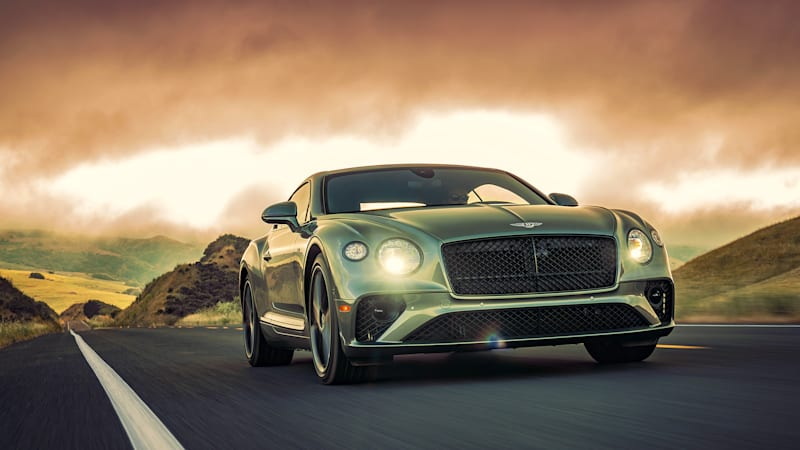 2020 Bentley Continental GT V8 First Drive Review