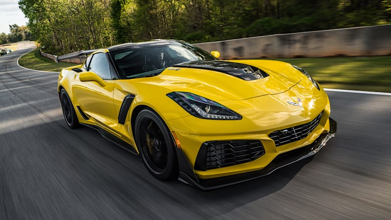 2019 Chevy Corvette ZR1 First Drive Review: It