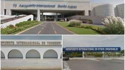 Los aeropuertos más y menos puntuales en