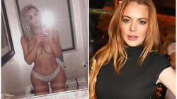 Kim Kardashian change de tête, Lindsay Lohan