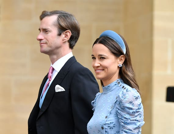 Pippa Middleton is a total stunner in Kate Spade