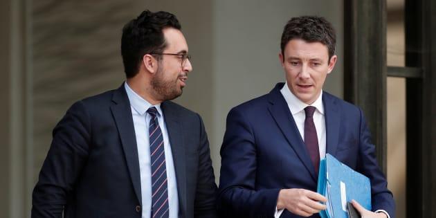 Les ministres Benjamin Griveaux et Mounir Mahjoubi se positionnent en vue des municipales de 2020 à Paris.