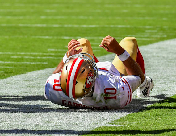 Jimmy Garoppolo tore ACL, is out for season