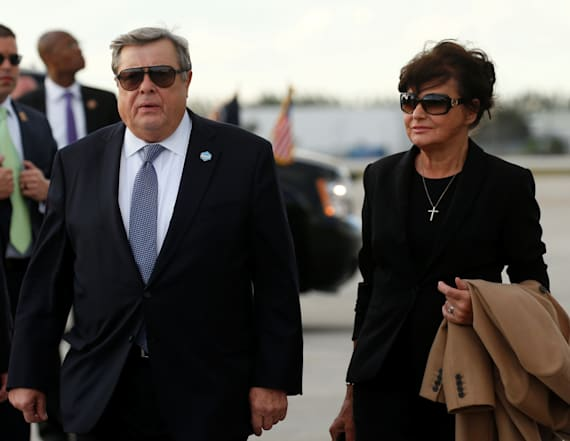 Melania Trump's parents are legal US residents