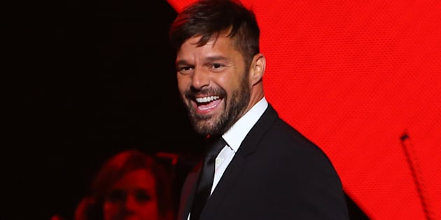LAS VEGAS, CA - NOVEMBER 16: Ricky Martin performs onstage during the 2016 Person of the Year honoring Marc Anthony at the MGM Grand Garden Arena on November 16, 2016 in Las Vegas, Nevada.(Photo by JB Lacroix/WireImage)