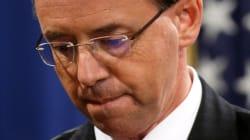SESSIONS RESISTE, MA... - Rosenstein, viceministro della Giustizia, verso le dimissioni. Giovedì l'incontro definitivo con