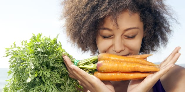 You don't have to chew on just carrots all day to meet your recommended intake.