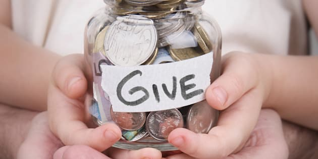 We all need to think and act, not just give money.
