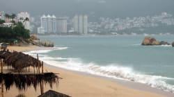 Navidad con sismo en Acapulco,