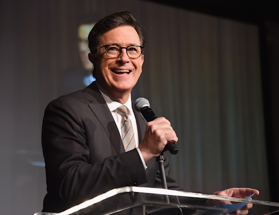 Stephen Colbert says he'll run for President