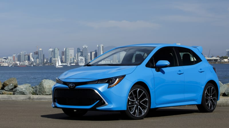 2018 Toyota Corolla Hatchback Drivers