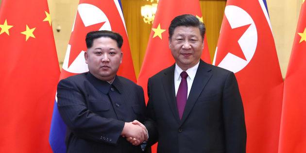 Dalian: colloquio tra Xi Jinping e Kim Jong-un