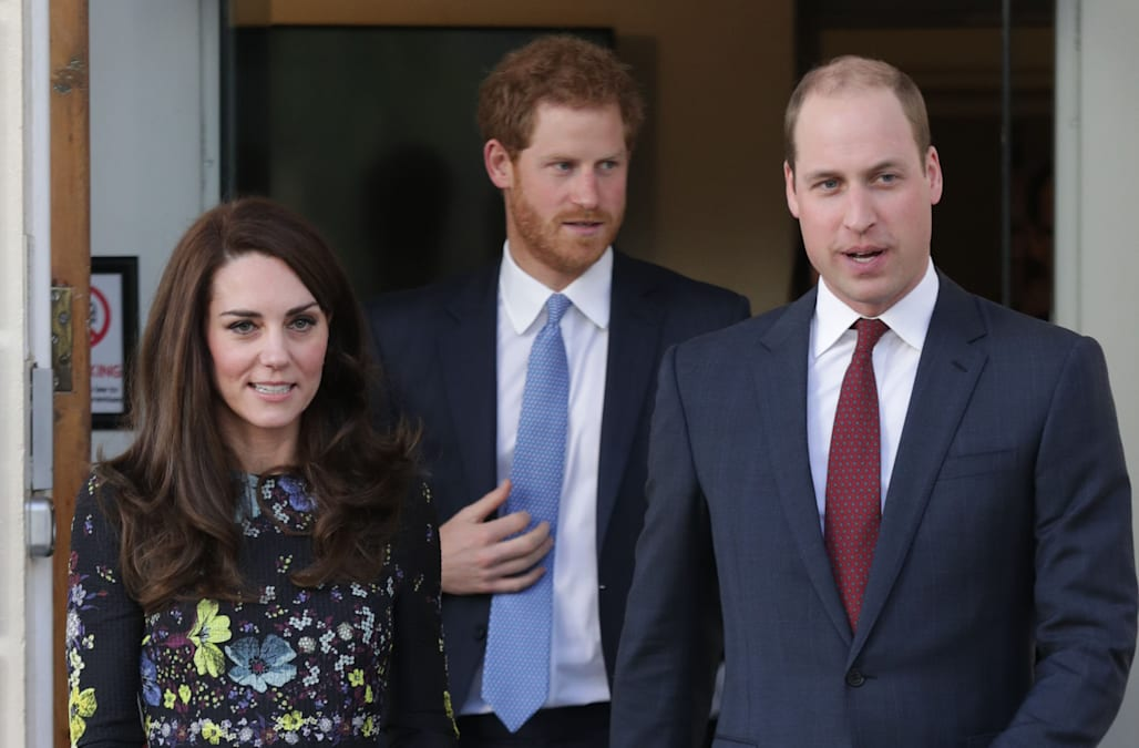 6b36e564a21de Kate Middleton, Prince Harry, and Prince William give joint speech to  promote mental health awareness