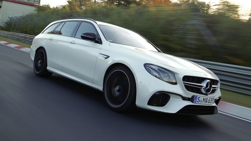 Mercedes Amg E63 S Claims Fastest Nurburgring Wagon Lap Time Autoblog