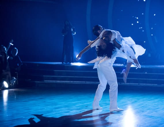 'DWTS': Normani performs through ankle injury
