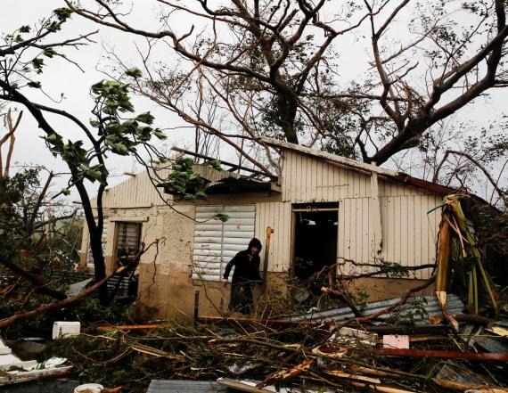 Puerto Rico shaken by Hurricane Maria
