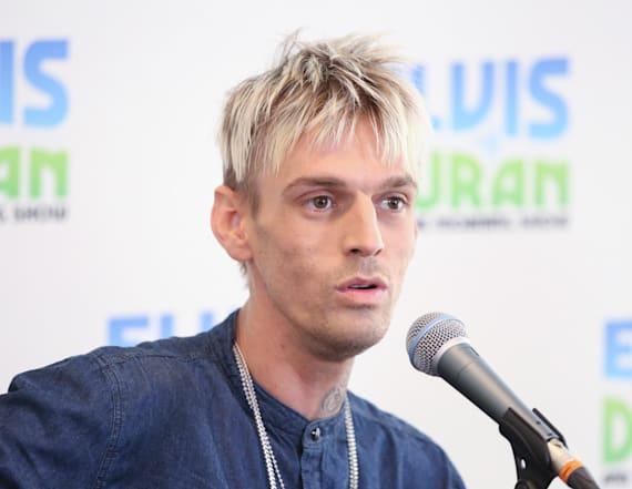 Aaron Carter heads back to rehab