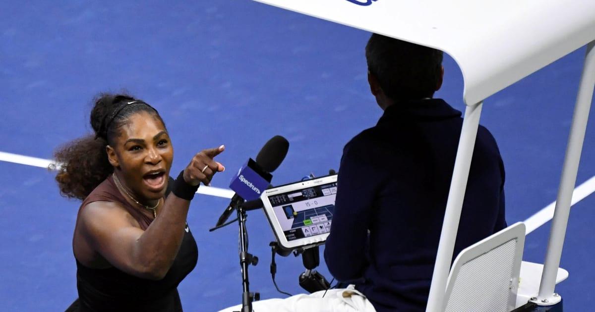 Risultati immagini per Serena Williams sessista