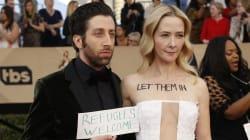 Toutes les stars des SAG Awards ont trouvé un moyen de condamner le décret de