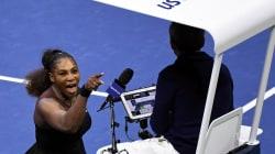 Serena Williams écope d'une amende salée après la finale polémique de l'US