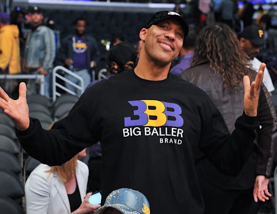 LaVar Ball's comment to ESPN host raises eyebrows