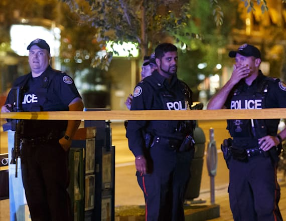 Gunman dead after mass shooting in Toronto