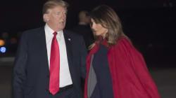 In questo gesto di Melania si legge tutto il risentimento verso Donald
