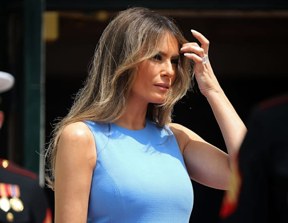 Melania's 'social butterfly' status up for debate
