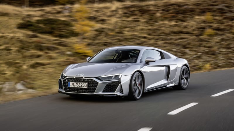 Audi R8 2WD coupe and Spyder show up on EPA site as 2021 models for U.S.