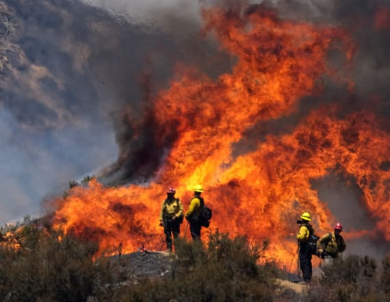 California's Apple Fire only 5% contained