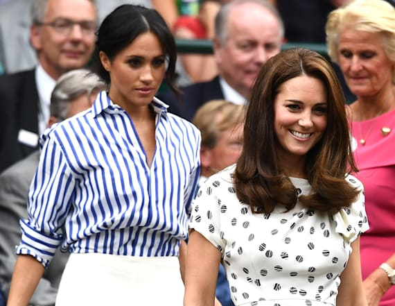Meghan and Kate attend Wimbledon together!