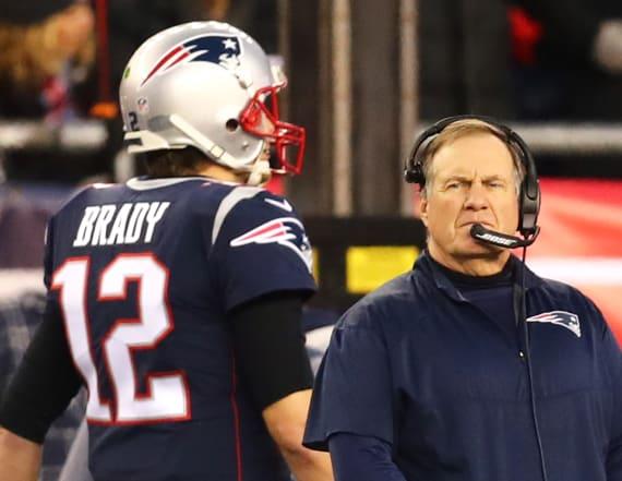 Belichick ignoring absentee Brady during OTAs
