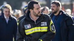 Salvini denunciato dal sindacato dei pompieri per
