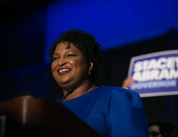 Abrams is US' first black female governor nominee