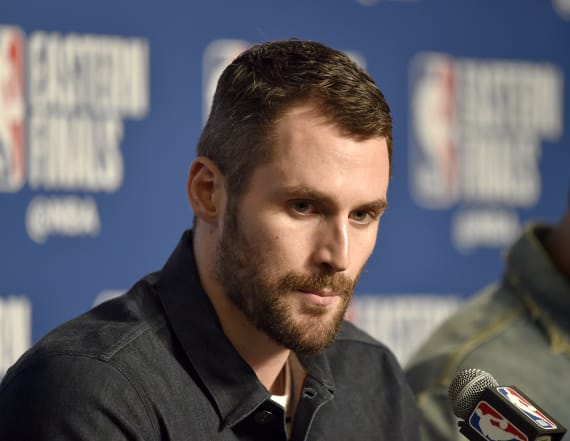 Kevin Love ruled out of Game 7 vs. Celtics