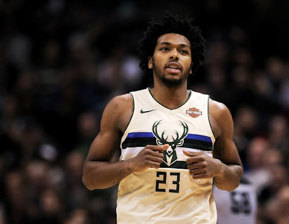 Video shows cops using Taser on NBA's Sterling Brown