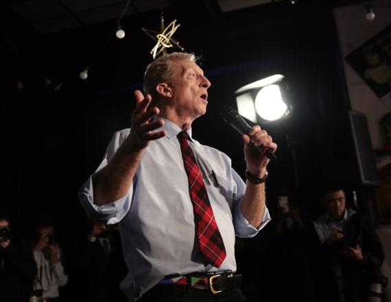 Steyer predicts coronavirus will be Trump's Katrina