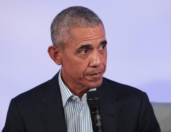 Obama makes surprising jab at Trump in new clip