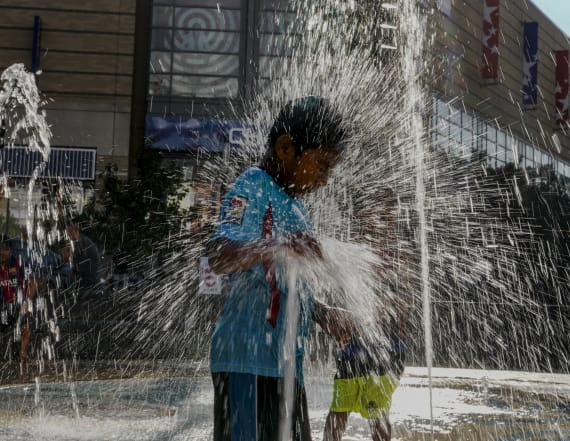 Searing heat grips much of the country