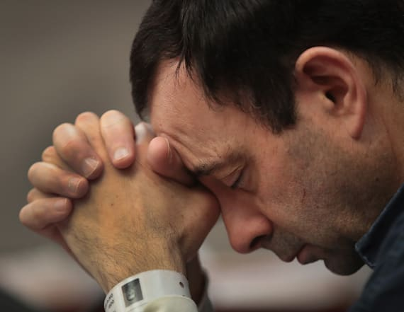 Sex-abuse victims face Larry Nassar at sentencing