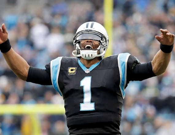 Microphone captures Cam Newton trolling defender