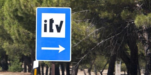 Señal de la ITV.