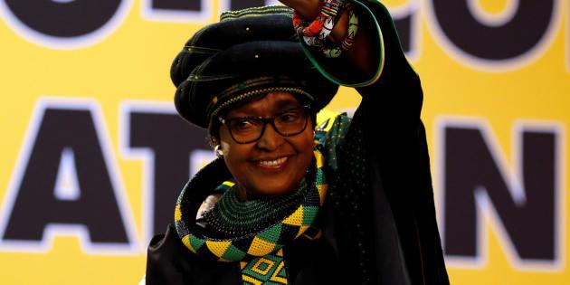 Winnie Madikizela Mandela, le 16 décembre 2017 à Johannesburg.