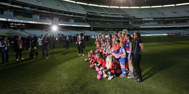 The women's AFL sides are announced. And that's not the only thing.