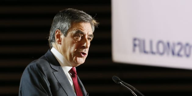 Francois Fillon, en meeting à Lyon, le 22 novembre 2016. REUTERS/Robert Pratta