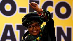 Winnie Mandela, l'ex-épouse de Nelson Mandela, est