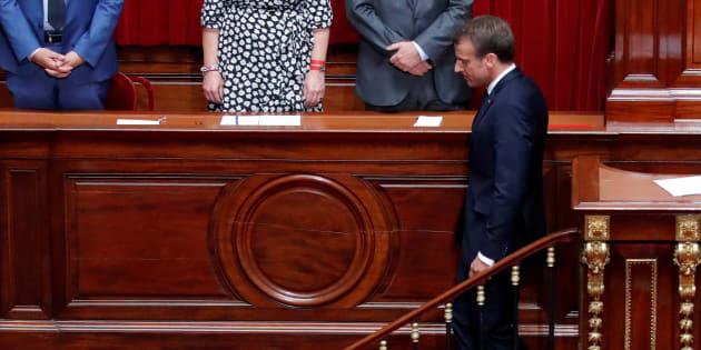 Le satisfecit de Macron au Congrès sur #MeToo ne passe pas