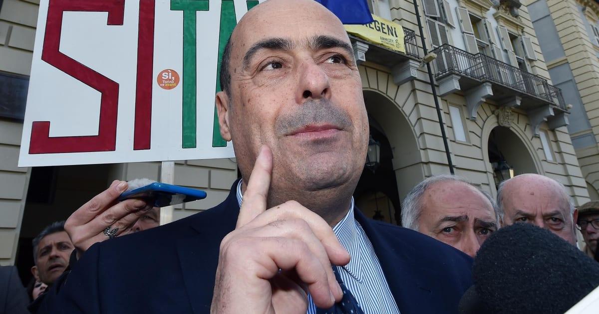 """Nicola Zingaretti: """"Se nel governo non riescono a non litigare, vadano a casa"""""""