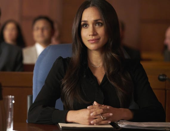 Meghan Markle's 'Suits' double: 'You deserve it all'