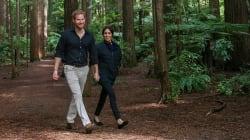 Meghan in viaggio e in dolce attesa: è di suo marito Harry la foto più